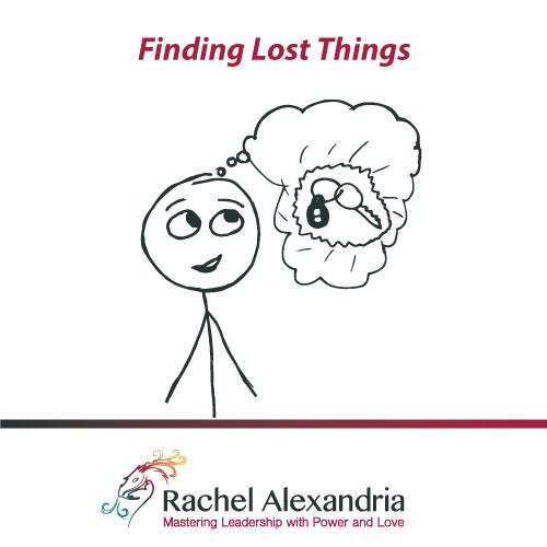finding lost things audio mp3 rachel alexandria. Black Bedroom Furniture Sets. Home Design Ideas